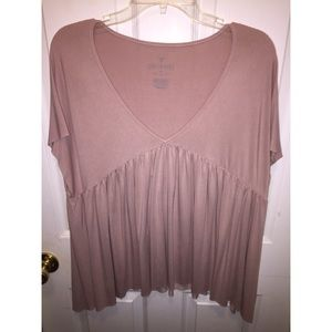 American Eagle Peasant Top